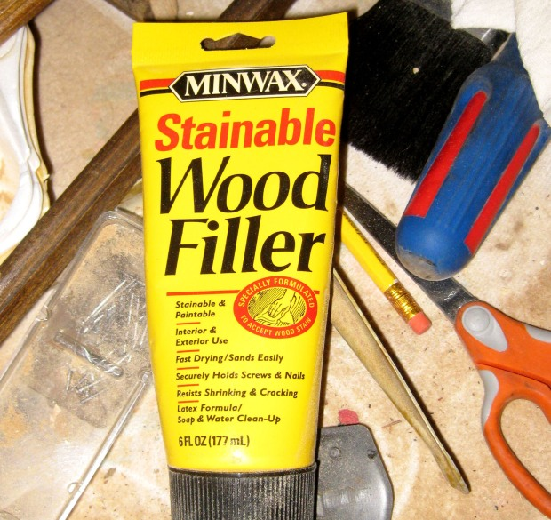 color putty wood filler