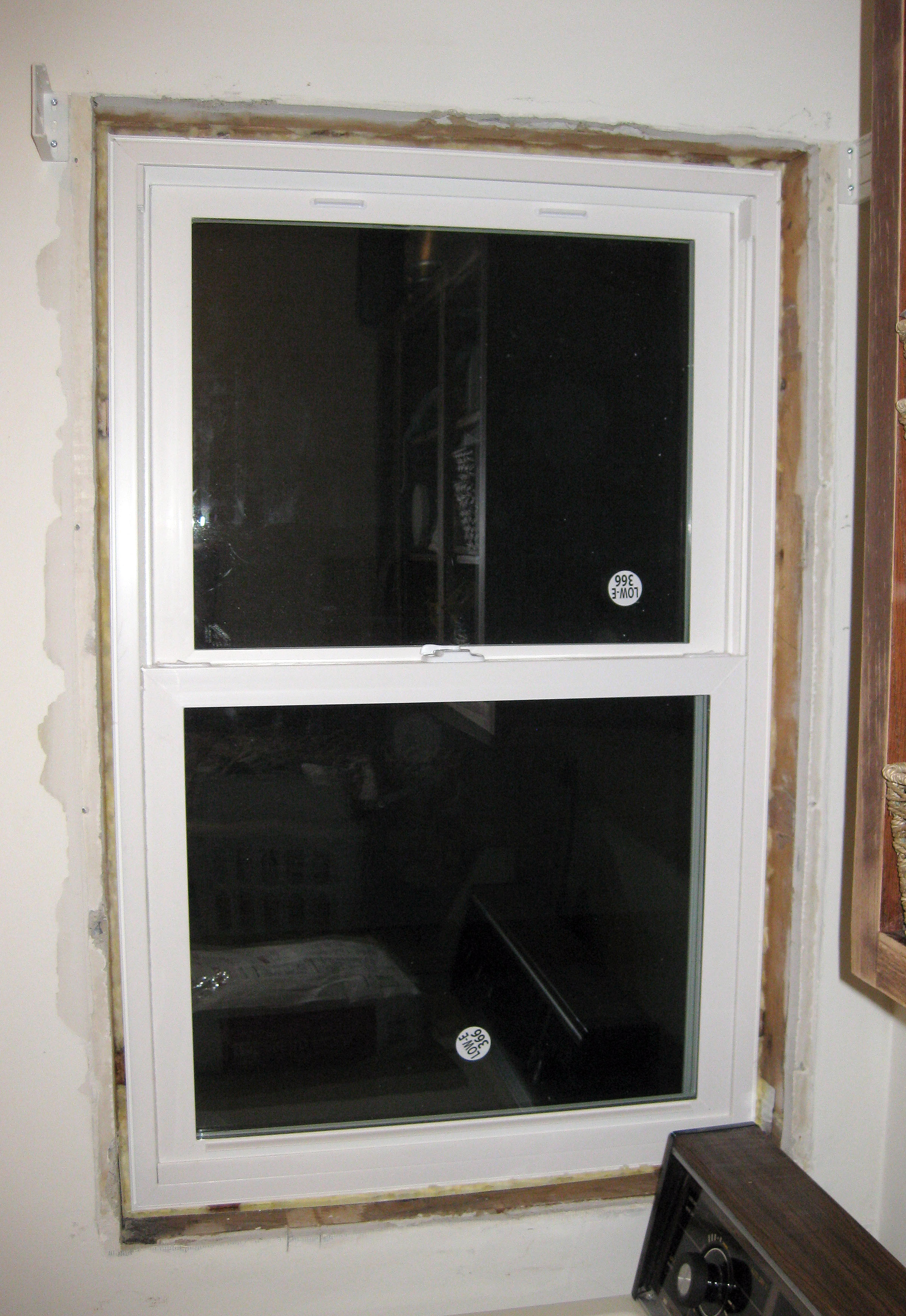 Window at night from inside - Now