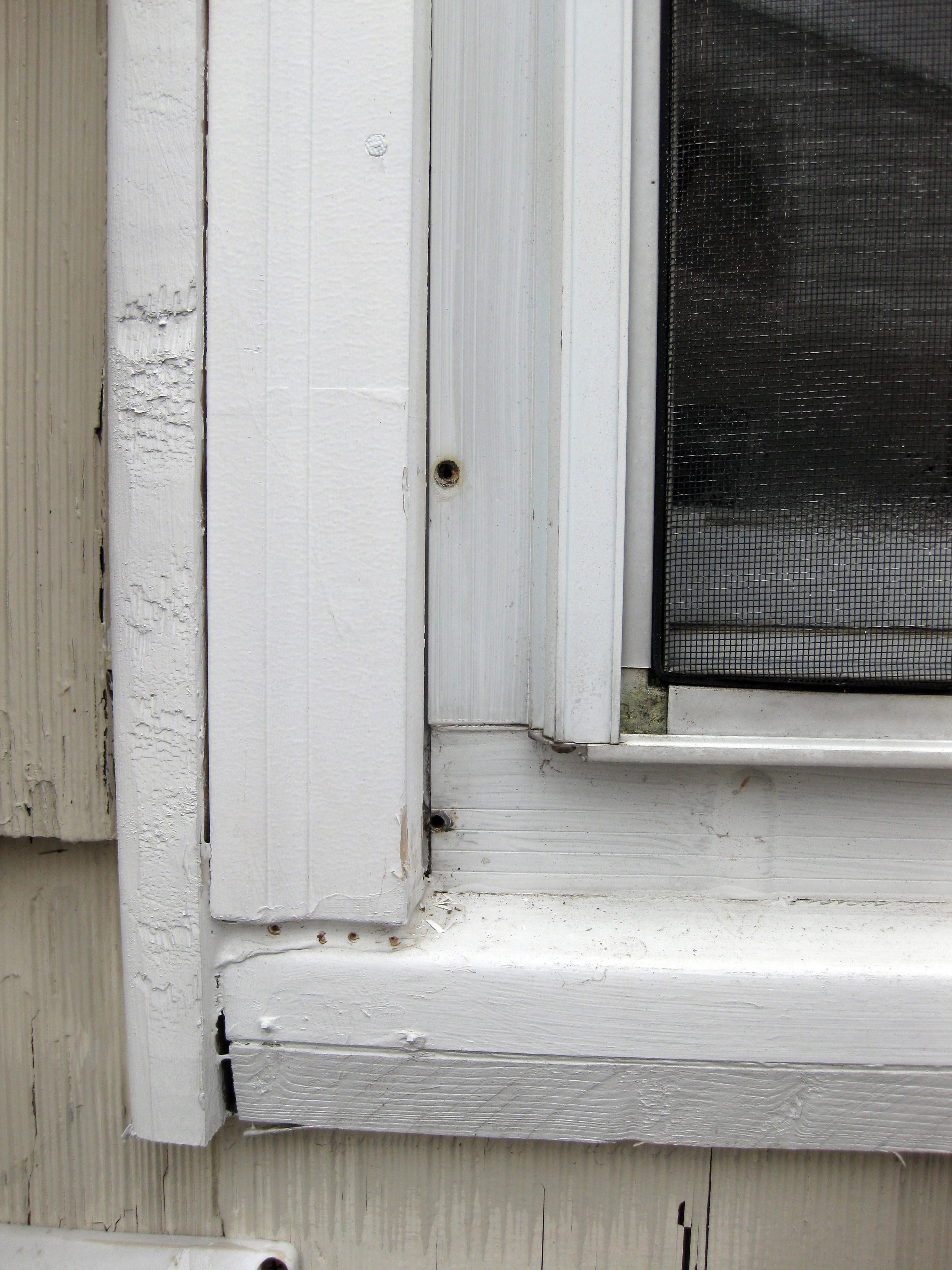 Window trim exterior vinyl - First
