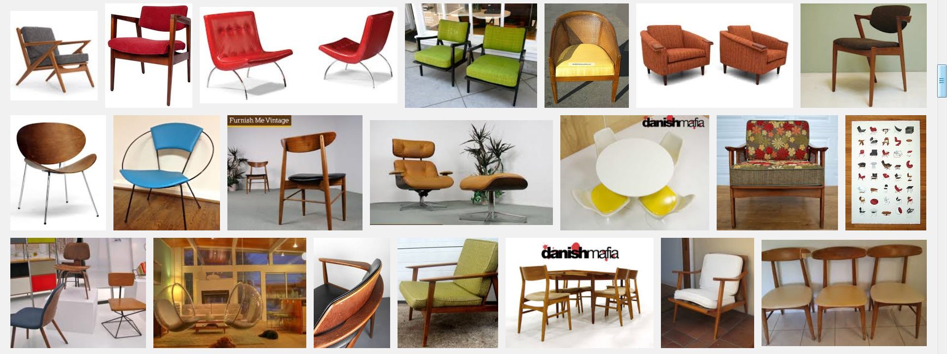 but back to my mad men chair this blog post from yesterday showed the before during and even inspiration photo for finished office furniture