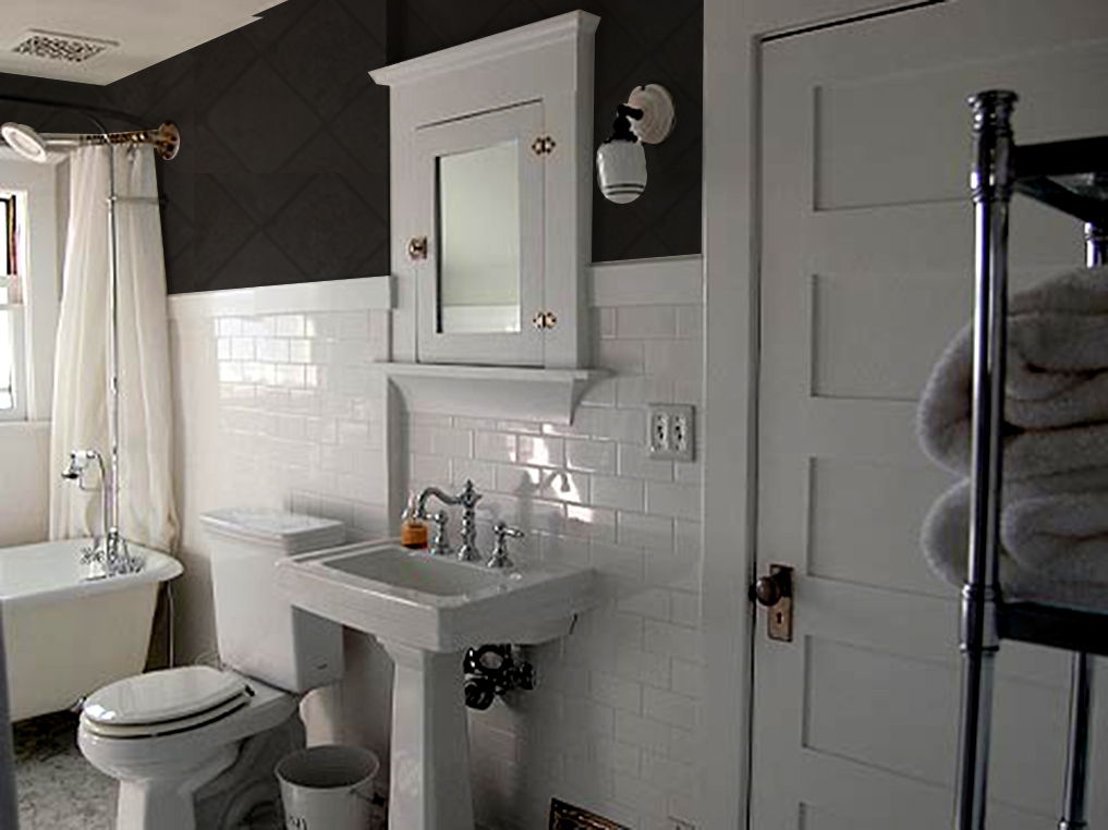 Gutting The Bathroom Up And Adam Ries