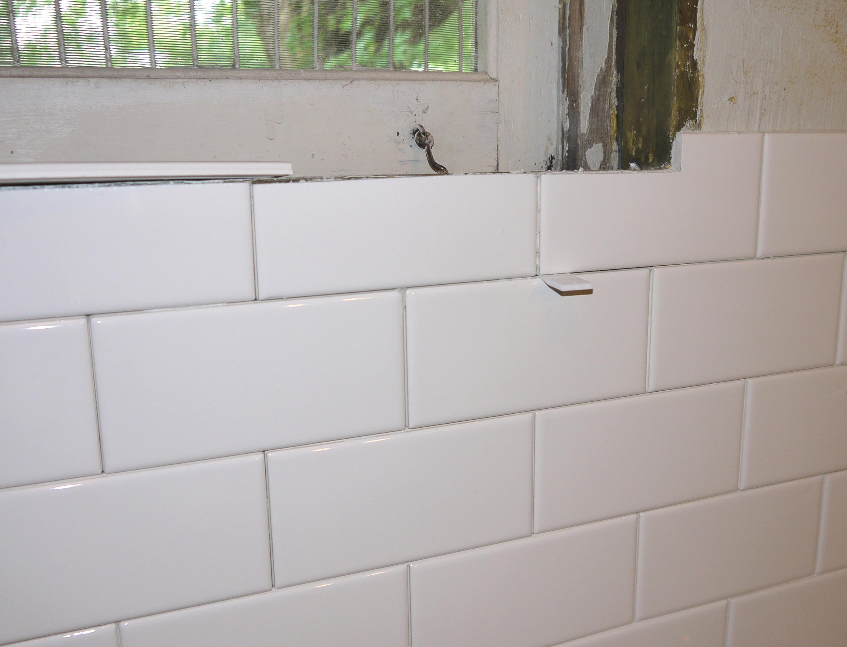 Floor up and adam ries it took several long days hundreds of trips outside to the wet saw to cut and then re cut and then cut my fingers on sharp edge of the tile dailygadgetfo Choice Image