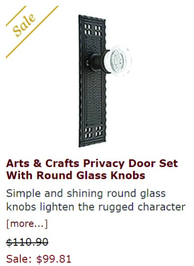 craftsman door handle