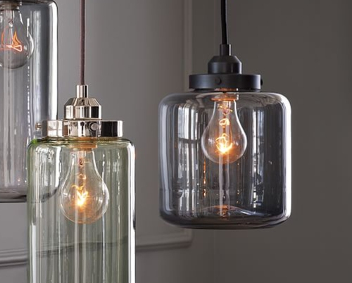 West Elm Jar Pendant